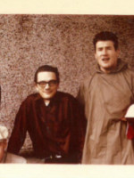 Dan McLeod, Gordan Payne, GB and Lionel Kearns, Kitsilano, 1962.