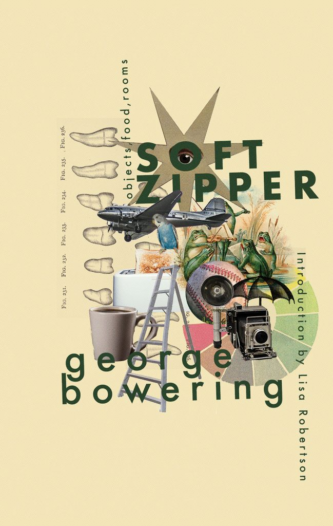 Soft Zipper by George Bowering (Book cover)