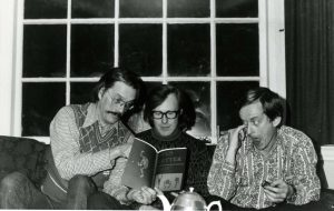 George Bowering, Frank Davey, and David McFadden